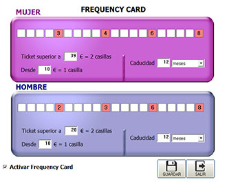 Manager Frecuency Card / Tarjeta Frequencia